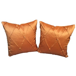 Salmon Pillows - A Pair For Sale