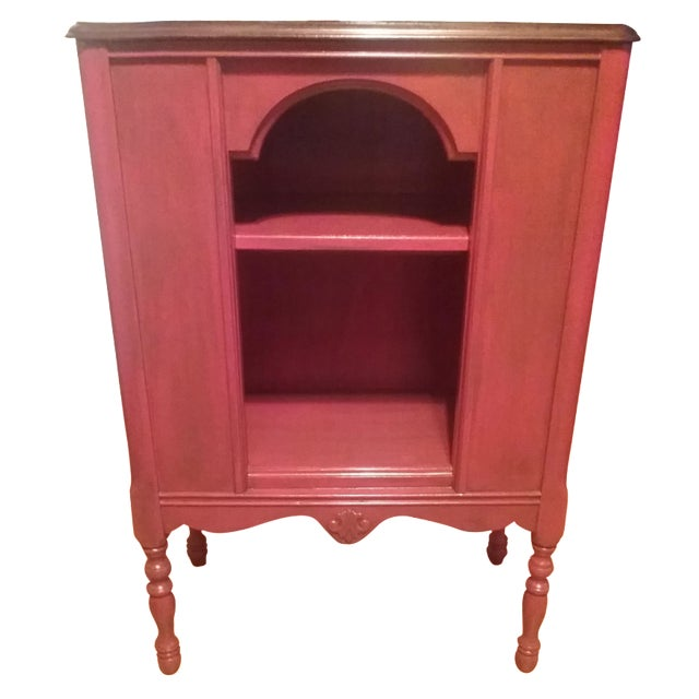 1940s Red Radio Cabinet - Image 1 of 6