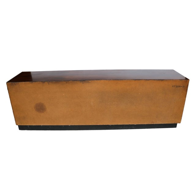 Brown Mid Century Rosewood Dresser Milo Baughman Style For Sale - Image 8 of 10