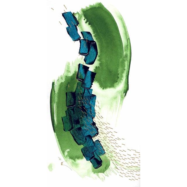 "Beth Winterburn Original Abstract Painting - ""8/1. 5."" - Image 1 of 3"