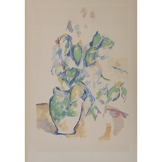 Vintage Paul Cezanne Screenprint