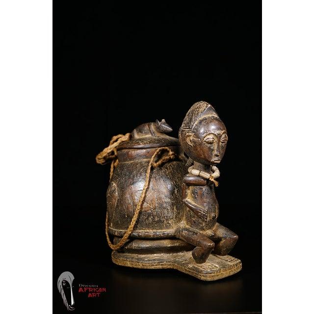 Baule African Tribal Divination Bowl - Image 4 of 11