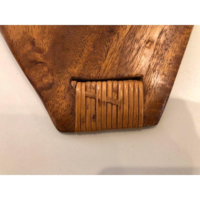 Wood Mid Century Arthur Umanoff Taverneau Tray for Raymor 1960's For Sale - Image 7 of 8
