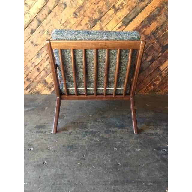 Mid Century Custom Selig Style Z Chair For Sale - Image 4 of 8