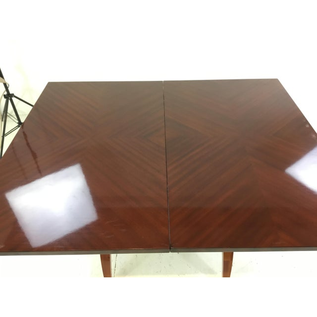 Modern Mahogany Console Table For Sale In Atlanta - Image 6 of 7