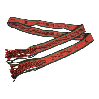 Native American Vintage Ceremonial Sash