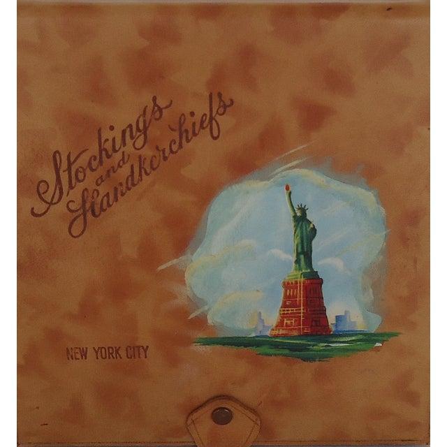 Vintage Leather New York Souvenir Box - Image 3 of 8