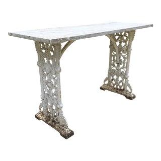 Iron Potting Table