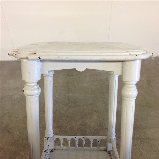 Rustic French Vintage Plant Stand - Image 10 of 10