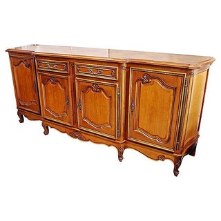 French Four-Door Cherry Buffet For Sale