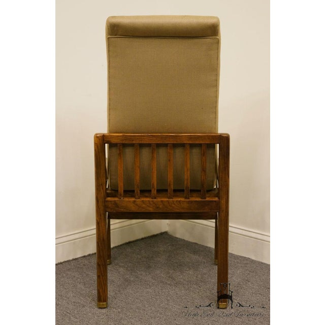Henredon Mid-Century Modern Solid Walnut Dining / Side Chair For Sale - Image 10 of 13