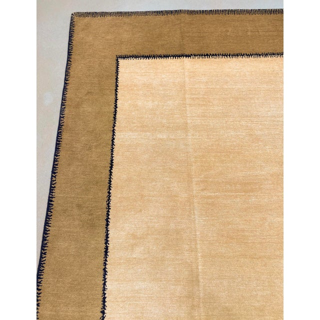 """Vintage Stephanie Odegard Nepalese Carpet, 9'11"""" X 12'2"""" For Sale - Image 4 of 9"""