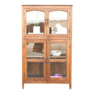 Early 20th Century Colonial Cabinet For Sale