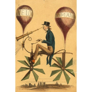 """1800s """"Voyage a La Lune"""" Print of Poster For Sale"""