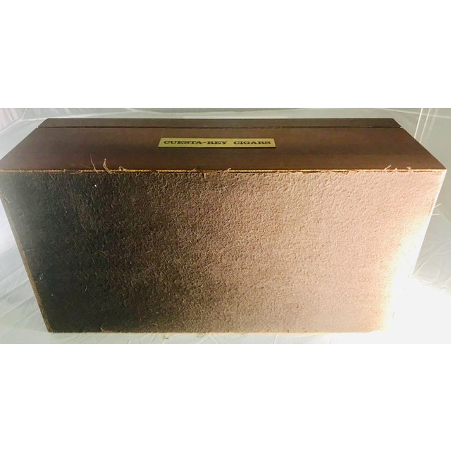 1980s Traditional Cuesta-Rey Cigar Humidor For Sale - Image 11 of 12