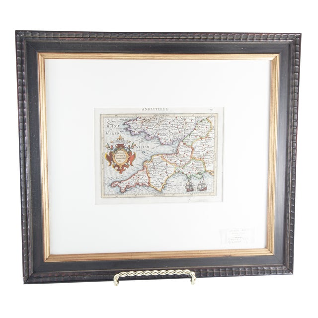 Antique Map of England For Sale In Nashville - Image 6 of 6