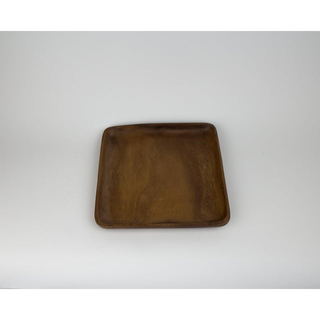 Brown Mid-Century Modern Wooden Fruit Bowl & Figurines - Set of 11 For Sale - Image 8 of 9