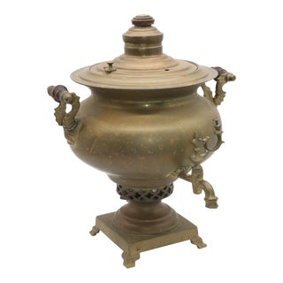 Jos Heinrichs Copper Samovar For Sale