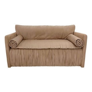 John Saladino Blush Loveseat For Sale