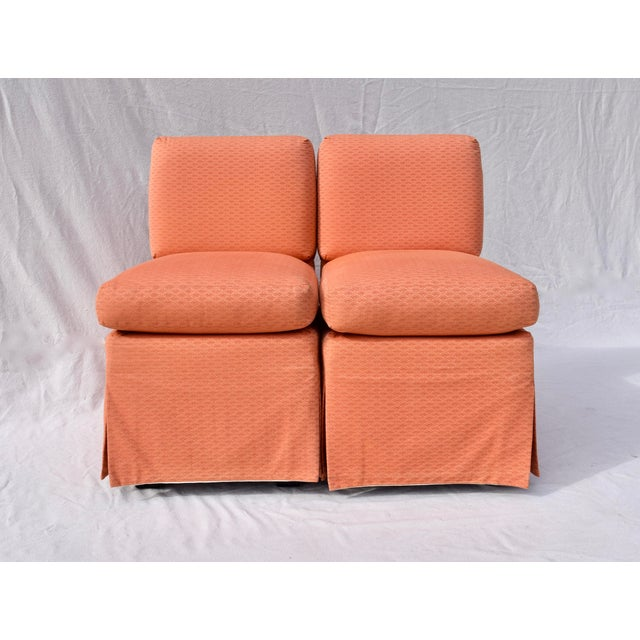 Billy Baldwin Slipper Chairs, Pair For Sale - Image 10 of 12