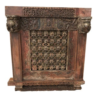 20th Century Asian Art Window For Sale