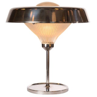 1960s B.B.P.R for Armetide 'Ro' Chrome Table Lamp