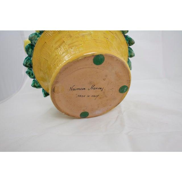 Ceramic Italian Terracotta Lemon Topiary For Sale - Image 7 of 9