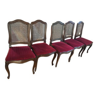 Vintage Henredon Dining Chairs - Set of 5 For Sale