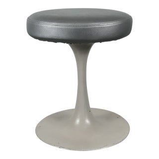 Saarinen/Knoll Style Tulip Stool For Sale