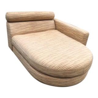1980s Vintage Roche Bobois Chaise Lounge For Sale