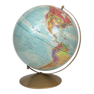 Vintage Replogle World Nations Series Globe For Sale