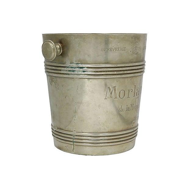 Christofle Rare 1940s Christofle Morlant Bistro Champagne Bucket For Sale - Image 4 of 7
