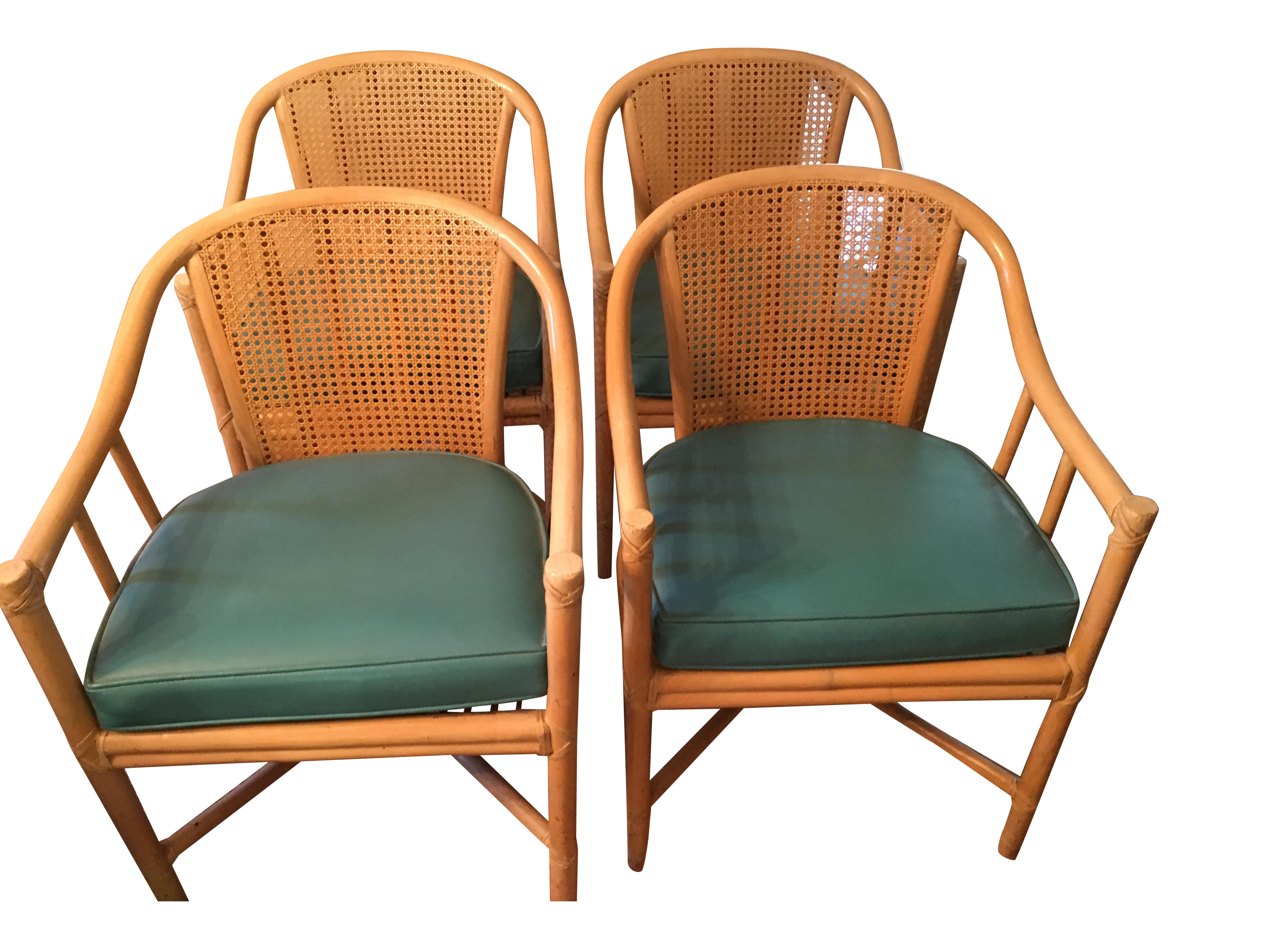 McGuire Dining Chairs   Set Of 4