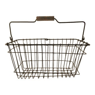 Vintage Swedish Farm Basket
