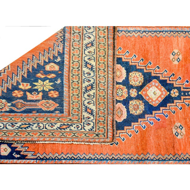 Wonderful Late 19th Century Antique Azari Rug For Sale In Chicago - Image 6 of 7