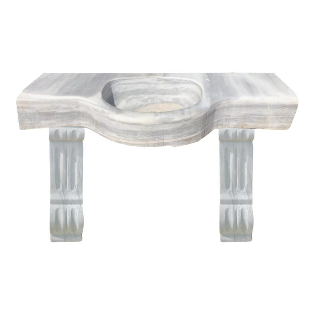 18th Century Marble Sink and Legs For Sale