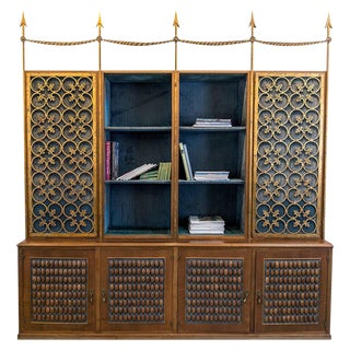 Library Bookcase From Ava Gardner's Paris Apartment For Sale