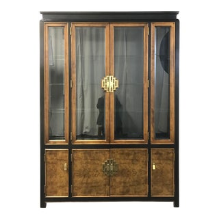 Century Chin Hua Raymond Sobota Asian Chinoiserie China Cabinet For Sale