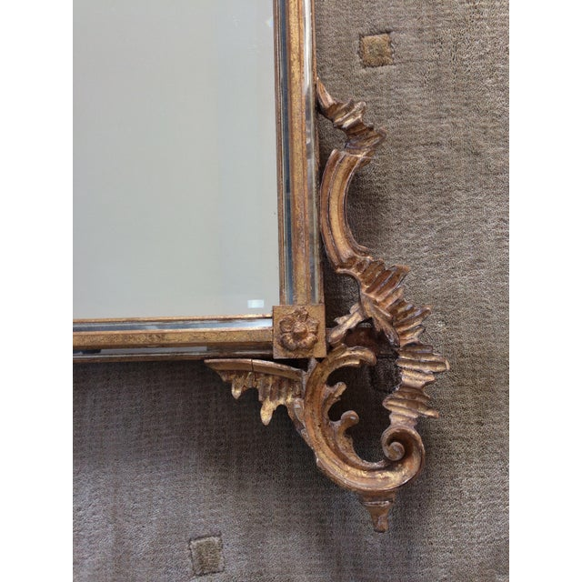LaBarge Ornate Italian Giltwood Mirror - Image 8 of 9