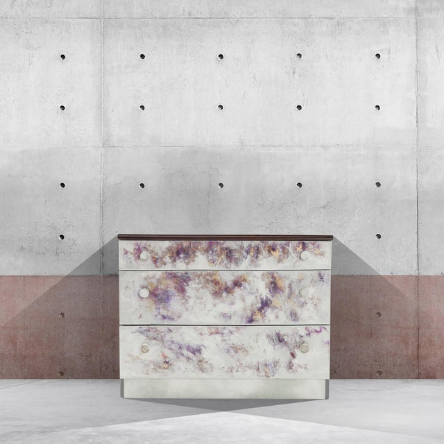 Where Did He Go?, Hand-Painted Chest of Drawers by Atelier Miru For Sale - Image 6 of 7
