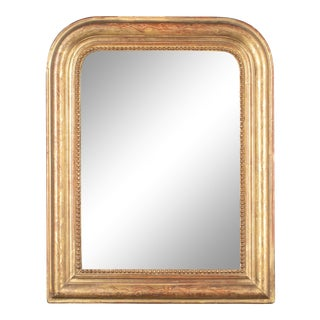 19th Century French Louis Philippe Style Gilded Mirror For Sale
