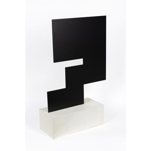 Lacquer Theodore Bally Metal Sculpture For Sale - Image 7 of 10