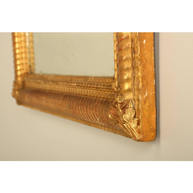 Antique French Gilded Mirror For Sale In Chicago - Image 6 of 9