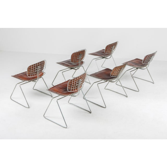 1970s Centre Pompidou Beauburg Chairs Selected by Jean Prouvé For Sale - Image 5 of 12