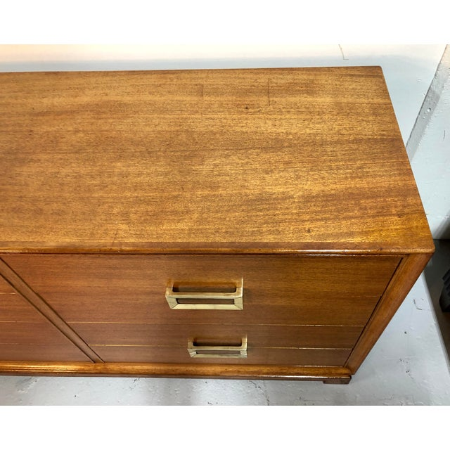 Red Lion Mid Century Modern 8-Drawer Mahogany Dresser by Red Lion For Sale - Image 4 of 13