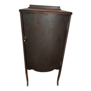 1920s Traditional Sheet Music Cabinet For Sale