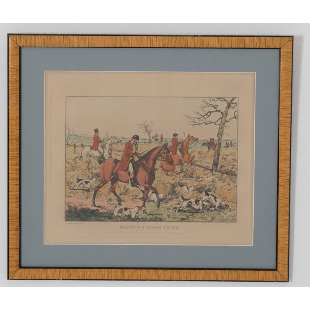 1825 English Hunting Prints by Henry Alken, London - Set of 6 For Sale In New York - Image 6 of 12