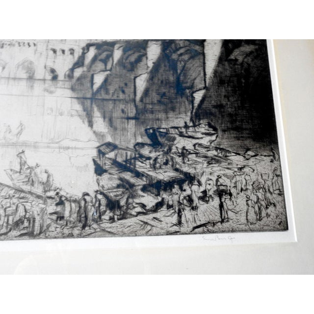 1926 Frank Brangwyn Etching Albi France For Sale - Image 4 of 5