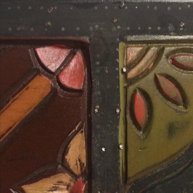 Vintage Wood Mirror - Image 7 of 8