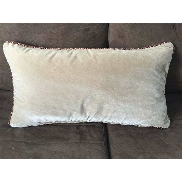 Aranjuez From Madrid Equestrian Accent Pillow - Image 7 of 7